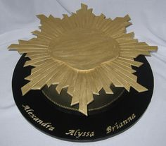 Girl Scout Gold Award 2 by Cake Diane Custom Cake Studio (eyedewcakes), via Flickr