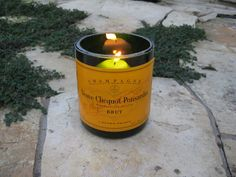champagne bottle candles - Google Search