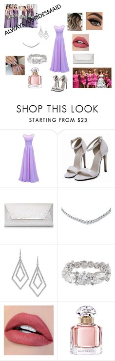 """""""Always a Bridesmaid"""" by bintiyussuf ❤ liked on Polyvore featuring Dorothy Perkins, ABS by Allen Schwartz, Henri Bendel, Guerlain and BridesMaid"""