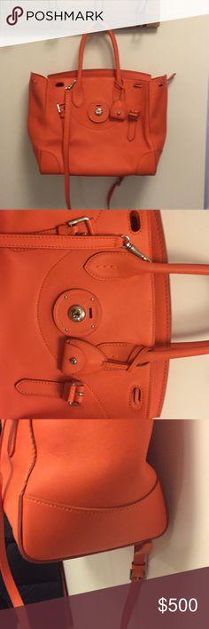 "Ralph Lauren 33"" Soft Ricky Bag Brand new iconic soft Ricky bag Ralph Lauren Bags"