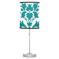 Gorgeous Damask Lamp