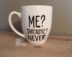 custom mugs :::::ITEM DESCRIPTION::::: This listing is for one handwritten coffee mug Capacity: 16 oz. Mugs are hand drawn and made to order. Picture above is an example of what yours