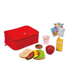 Look at this #zulilyfind! Lunch Box Toy Set #zulilyfinds
