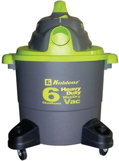 koblenz - wet/dry vacuum cleaner with 6-gallon tank