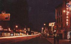 Genesee Street at Night - Utica, New York #oneidacountyny