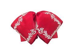 Embroidered charro bowtie - El Charro