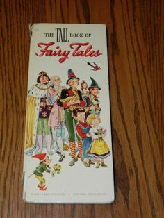 The Tall Book of Fairy Tales 1947 ELEANOR VANCE Snow White Rose Red 20.00