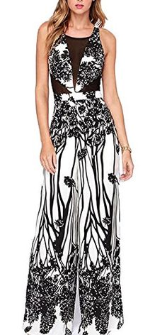Cheap waist high, Buy Quality spring and summer directly from China jumpsuit fashion Suppliers: SMSS fashion spring and summer gauze patchwork high waist jumpsuit sexy vest jumpsuit Rompers Women, Jumpsuits For Women, Moda Afro, Long Jumpsuits, Printed Jumpsuit, Mesh Jumpsuit, Lace Maxi, Simple Outfits, Clothes For Women