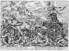 Mors (Death) from the series Six Triumphs of Petrarch n.d.Engraving (76.65.3) Philip Galle (Dutch, 1537–1612) after Maerten van Heemskerk Dutch (1498–1574)