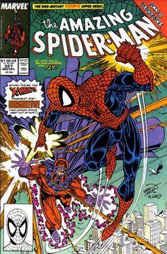 The Amazing Spider-Man #327 (1963 series) - cover by Erik Larsen