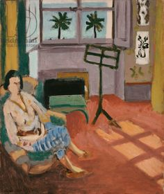 Matisse, Henri (1869-1954) Interior of the Studio, with Music Stand, 1926 (oil on canvas)