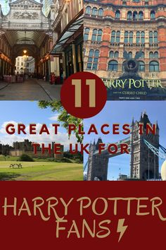Harry Potter filming locations and places for Harry Potter fans to sightsee in the UK. What to do in the UK if you're a Harry Potter fan Harry Potter Filming Locations, Harry Potter Tour, Harry Potter Studios, Harry Potter Films, Lestrange Harry Potter, Bellatrix Lestrange, Leadenhall Market London, Studio Tours, Harry Potter Castle