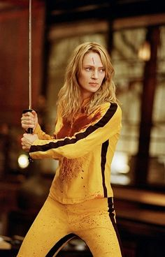 Kill Bill vol.1 & 2 (2003) by Quentin Tarantino with Uma Thurman, Lucy Liu, David Carradine, Daryl Hannah, Michael Madsen...