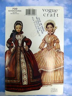 Vogue Barbie pattern -- Anyone want to find this for me??? PLEASE??? (yeah it looks like its trying to be victorian but I want that red one as renaissance! cuz thats what it is!)