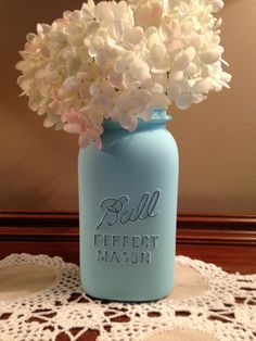 Customized Mason Jar Decor Great as a Vase, Gift, or Centerpiece for Any Event! on Etsy, $5.00