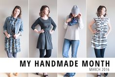 My Handmade Month: 30 Days of DIY Wardrobe Inspiration