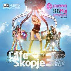 Flyer for Cafe del Skopje 3