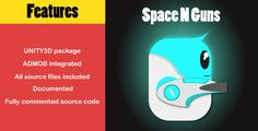 awesome Space N Guns - bullet hell UNITY3D android (Games)