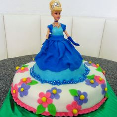 Cinderella fondant cake made by chef RBK