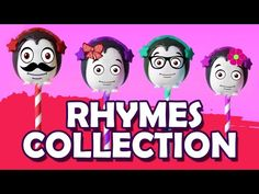Finger Family Collection Cake Pop Rhymes for Children http://www.youtube.com/watch?v=1LxVD5cM6Pk | 3D Cartoon Rhymes Animation - YouTube