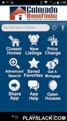 Colorado Home Finder  Android App - playslack.com ,  Colorado Home Finder Realty's Mobile Real Estate Search App brings the most accurate and up-to-date real estate information right to your smart phone! With Colorado Home Finder Realty's Mobile Real Estate Search App, you have access to detailed information on every home listed for sale, from every real estate company, throughout the Denver-Boulder metro area. If you're driving through neighborhoods you like, use the company's Mobile Real…
