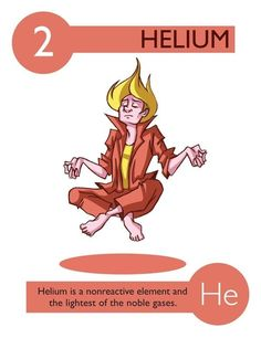 112 Cartoon Elements Make Learning The Periodic Table