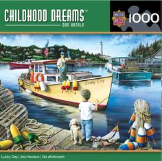 Childhood Dreams - Lucky Day - 1000 Piece Jigsaw Puzzle