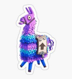 """Fortnite Llama Lama Colorful Comic Book Look-A-Like"" Stickers by retropedro 10th Birthday Parties, Birthday Diy, Diy Birthday Decorations, Party Printables, Printable Stickers, Inspiration, Party Cakes, Cali, Comic Book"