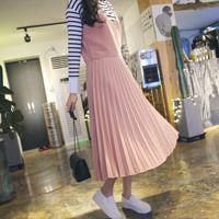 Pleated Slip Dress - Strawberrycoco