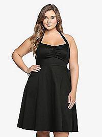 TORRID.COM - Halter Swing Dress