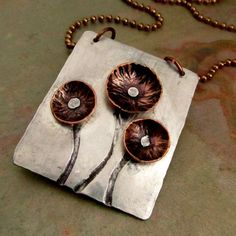 rivet ideas... How sweet is this?