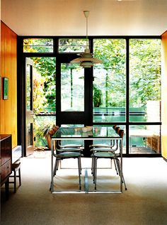 DINING ROOMS On Pinterest Mid Century Dining Palm Springs And Modern Dinin