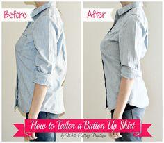 Wie für eine perfekte Passform Tailor einem Hemd! :: Hometalk