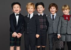 Back To School Dolce & Gabbana Winter 2016 Kids Clothes Best Looks Dolce And Gabbana Kids, Dolce E Gabbana, Kids Fashion Boy, School Fashion, Outfits Niños, Kids Outfits, Little Man Style, Usa Baby, Kid Swag