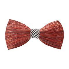 e73684d78486 Brackish Feather Pre-tied Bow tie - Hound (121-BRK)