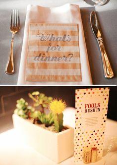 Dots + Stripes Wedding Inspiration