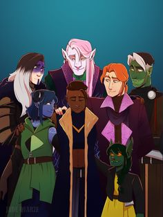 Our fan art gallery for the week of Critical Role Characters, Critical Role Fan Art, D D Characters, Critical Role Campaign 2, Vox Machina, The Adventure Zone, Dungeons And Dragons, Illustration Art, Illustrations