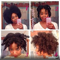 "by @posh_syd ""Fluffy Chuncky Twist Out using: Nene's Secret leave-in conditioner (Feb. #curlbox) and Pantene defining curls styling custard (April #curlbox)  Step 1- Comb out hair (I combed out an old twistout) Step 2 - Twist in large sections (I did about 10 or 11) adding a little LIC and styling cream to each section Step 3 - Separate the twist  Step 4 - Separate some more and fluff with pick  Sidebar- Naturalistas we look cray before we go to bed lol but the pay off the next day tho  ..."