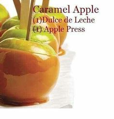 It's Fragrance Friday! This week's featured fragrance is another recipe!  Time for some yummy Caramel Apples during the weekend! Just add one cube of Apple Press and one cube of Dulce de Leche for a fun, crisp snack!  Purchase your Scentsy Bars and whip up your Caramel Apples today! https://aromamia.scentsy.us/Scentsy/Buy/Category/1131 https://aromamia.scentsy.us/Scentsy/Buy/Category/1133