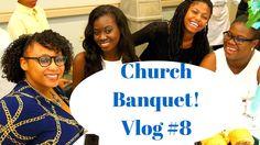 Church Banquet | Vlog By Golden Minette #8