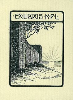 [Ex Libris K.P.L .] | Flickr