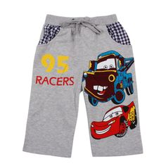 Kids wear clothing 2013 fashion hot cotton short with printing peppa pig D4158#