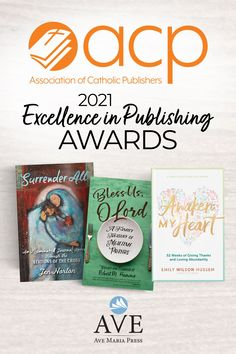 We are pleased to announce that EIGHT #AveAuthors won 2021 Excellence in Publishing Awards from the Association of Catholic Publishers. Congratulations Jennifer Norton, Emily Wilson Hussem, Robert M. Hamma, Deacon Ed Shoener, Bishop John P. Dolan, Debra Kelsey-Davis, Kelly Johnson, and Rafael Ramírez! Catholic High, Catholic Books, Three In Spanish, Holy Cross, Give Thanks, Book Publishing, Textbook, Books To Read, First Love