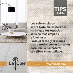En #LaCler queremos que tu casa sea un espacio inspirador, así que te compartimos algunos tips que te serán útiles para decorarla y hacerla más agradable, ¡aquí está el primero de muchos!!! Foto de: http://housearquitectura.com/
