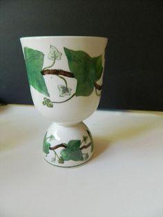 "Napoleon ""ivy"" egg cup= English bone china-Wedgwood"