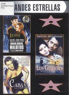 Colección Grandes estrellas : Danzad, danzad, malditos. Los girasoles. La cabaña