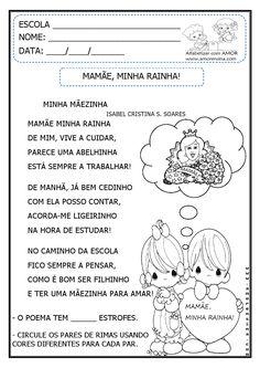 Alfabetizar com AMOR: MAMÃE, MINHA RAINHA! ATIVIDADES INTERPRETATIVAS E ...