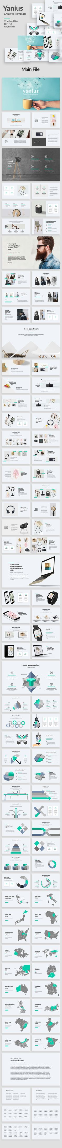 Yanius - Creative Powerpoint Template