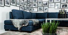 Mysig hörnsoffa för ditt tv-rum/ vardagsrum. Modulsoffa Stockholm från @welanderdesign Corner sofa for your tv-room. Design Björn Welander