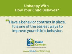 What Every Parent Wants to Know About It? http://www.homecontract.org/behavior-contract/